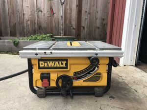 DeWalt DW 745 table saw for Sale in Sunnyvale, CA