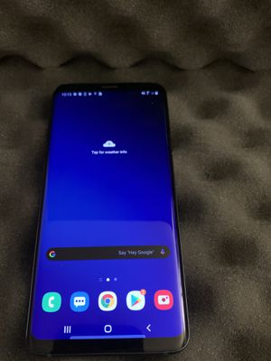 Samsung Galaxy S9plus ANY CARRIER blue for Sale in Chula Vista, CA