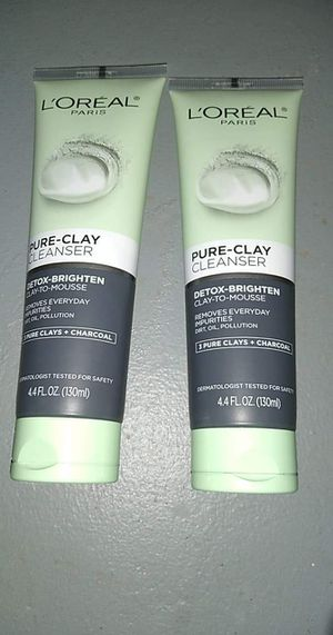 Loreal pure clay cleanser for Sale in Erie, PA