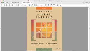Elementary Linear Algebra 11th Edition for Sale in El Monte, CA