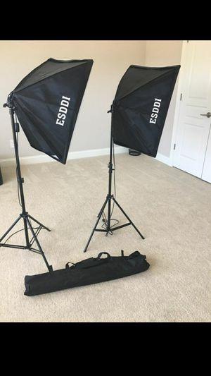 NEW ESSDI professional photographer lights for Sale in Marietta, GA