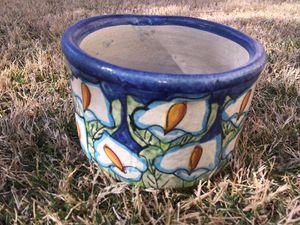 Small Mexican Talavera flower pot Home Garden Decor for Sale in Henderson, NV