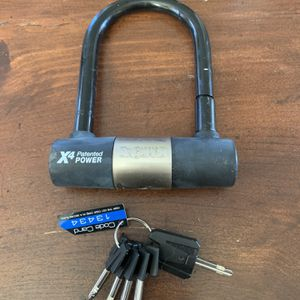 U-Lock For Bike Or Other for Sale in Randolph, MA