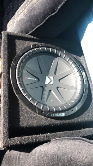 "12"" kicker Comp R & 2400 watt 4 ch ATG amp for Sale in Denver, CO"