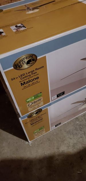 Brand New Hampton Bay ceiling fans!!! for Sale in Chicago, IL