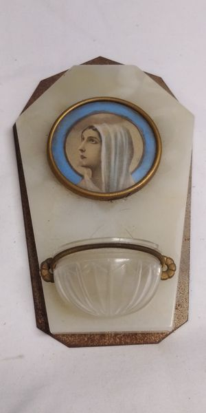 French Antique Holy Mother Font for Sale in San Juan Capistrano, CA