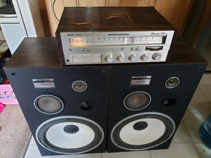 Vintage 1970s Marantz Receiver And Pioneer Speakers for Sale in Needville, TX
