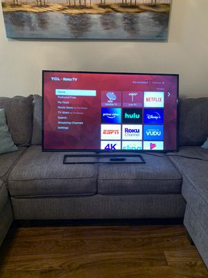 55 inch TCL Smart TV for Sale in Arlington, TX