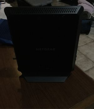 Netgear ac1900 WiFi cable modem docsis3.1 $80 for Sale in Chicago, IL