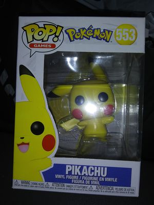 Funko Pop Pikachu Pokemon for Sale in Oklahoma City, OK