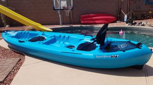 Tandem Kayak 12 Foot Long and 1 paddle for Sale in Goodyear, AZ