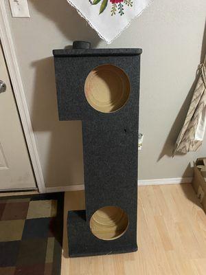 Custom Speaker box Silverado crew Cab 06 for Sale in Phoenix, AZ