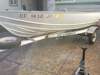1998 Welded Gregor Boat 12ft With Trailer $1000 for Sale in San Jose,  CA