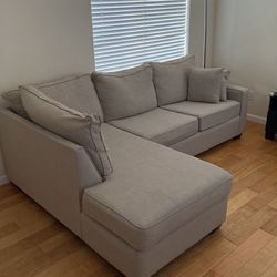 Custom Couch with Chaise for Sale in Menlo Park,  CA