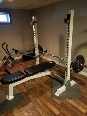 Bench bar weight! for Sale in Lawrence, MA