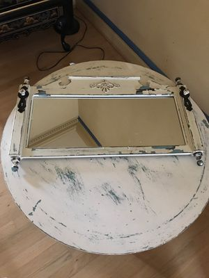 Matching mirror and round coffee table for Sale in Portsmouth, VA