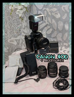 Canon 40D (One Owner) for Sale in Tampa, FL
