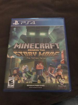 Mincraft story mode season 2 for Sale in Lodi, CA