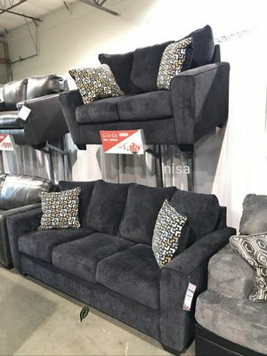 $39 Down  🍃🍂 BEST DEAL SPECIAL] Wixon Slate Living Room Set 297 for Sale in Jessup, MD