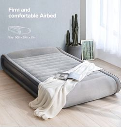 Sable Air Mattress Full Size XL Inflatable Elevated Built-in Pillow for Sale in Chesterland,  OH