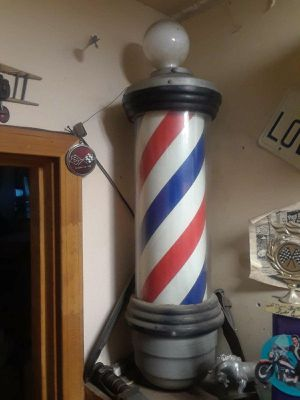 Barber pole sign for Sale in Fountain Valley, CA