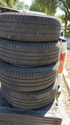 Honda civic rims and tires 4 lugs for Sale in San Antonio, TX
