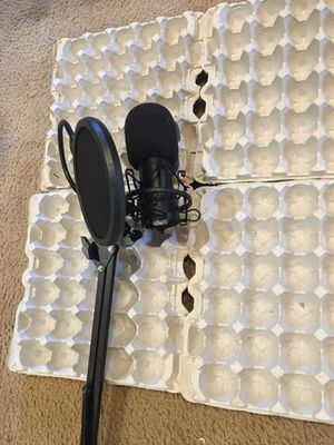 45 egg cartons for sound proofing, recording,blogging for Sale in Easley, SC