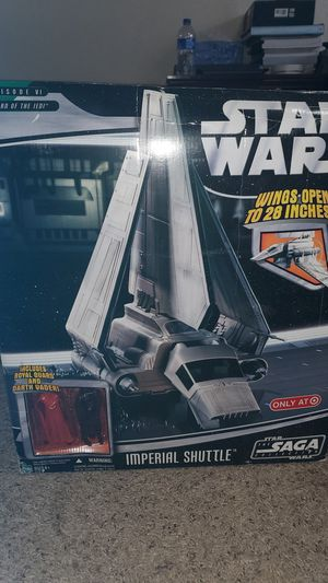 Star Wars Episode VI Return of the Jedi Imperial Shuttle for Sale in Lewisville, TX