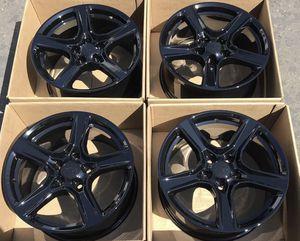 "18"" Chevy Camaro factory wheels rims gloss black new Chevrolet for Sale in Santa Ana, CA"