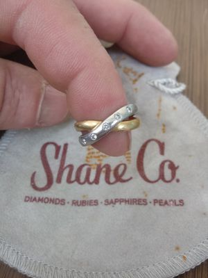 Shane Co diamond /gold/ white gold wedding ring band for Sale in Puyallup, WA