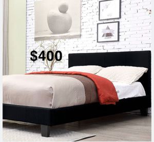 CALI KING BED FRAME W/ MATTRESS INCLUDED for Sale in Norwalk, CA