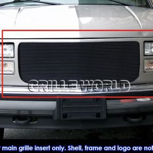94-99 GMC C/K Pickup/Suburban/Yukon Black Billet Grille Insert for Sale in Orange, CA