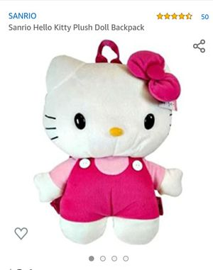 Hello kitty plush backpack for Sale in Mount Vernon, WA