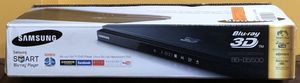Samsong 3 D Blu- Ray Disc/DVD Player with two 3 D glasses for Sale in Rockville, MD