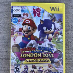 Super Mario Bros And Sonic At The 2012 London Olympic Games For Nintendo Wii for Sale in Las Vegas, NV