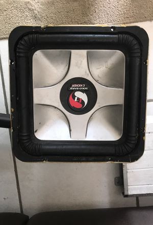 "12"" kicker and amplifier for Sale in Santa Ana, CA"