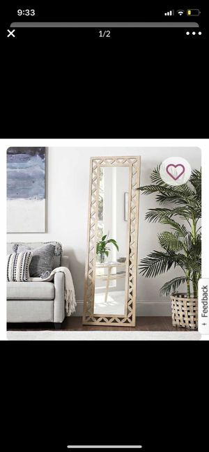 Tall standing mirror for Sale in Sudley Springs, VA