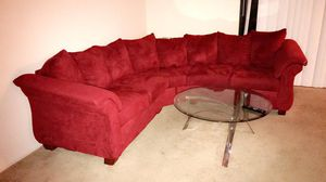 Red couches for Sale in Alexandria, VA