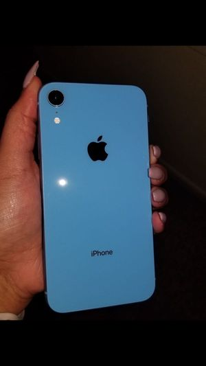 iPhone XR Blue for Sale in Starkville, MS