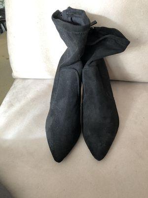 Black Microfiber Boot for Sale in Glenn Dale, MD