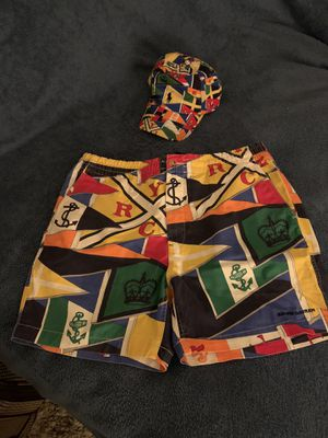 RALPH LAUREN POLO SHORTS & HAT for Sale in Pinole, CA