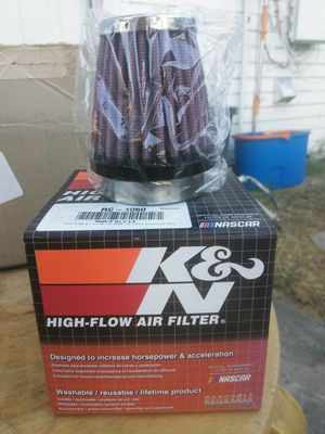 K&N reusable air filter for intake system for Sale in Fresno, CA