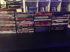 Huge lot 60+ DVD's $1 each for Sale in Newark, CA