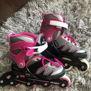 5 Size Adjustable Roller Blades For Kids (US Size 13-3) for Sale in Hingham, MA