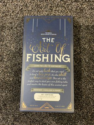 New in Box The Art of Fishing Gentleman's Series Set Details: Set Contains Extendable Rod, Reel, Float, Fishing Line, 3 Hooks and Instructions Sheet for Sale in Dundalk, MD