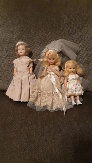 Antique Dolls lot of 3 for Sale in Matthews, NC
