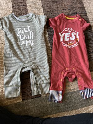 3 months onesies / $10 for both for Sale in Richmond, CA