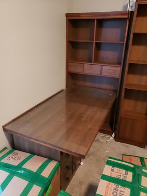 Desk with hutch for FREE for Sale in Franklin, TN