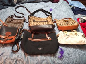Dooney & Bourke-Coach and many generic bags to choose from in all sizes and colors for Sale in Lynnwood, WA