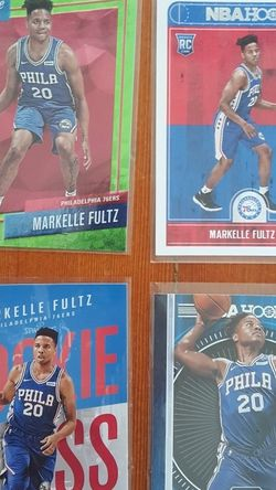 Four Markelle Fultz Rookie Cards - Number 1 Pick - NBA - Philadelphia 76ers, Orlando Magic for Sale in Portland,  OR